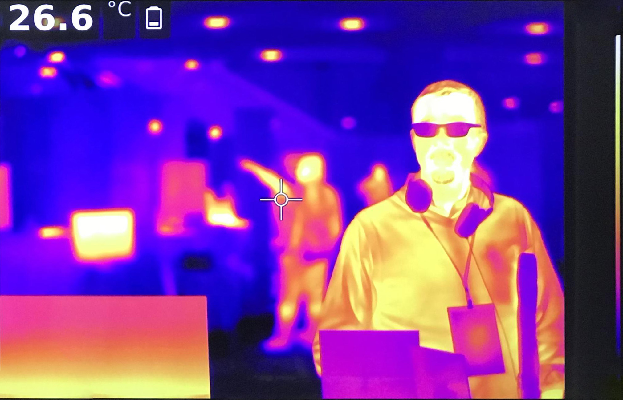 camara termografica