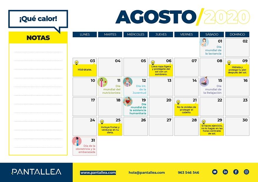 calendario agosto farmacias