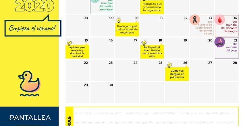 calendario contenidos farmacia